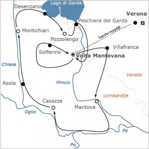 Fietsvakantie Italië - Lombardije