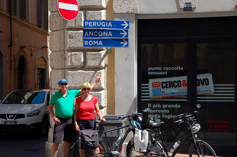 Fietsreis Italie - Umbrie