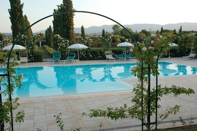 Fietstocht Umbrie - Zwembad