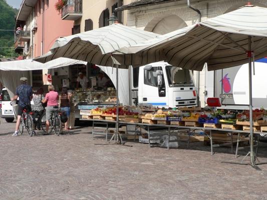 Fietstocht in de regio Piemonte Italie