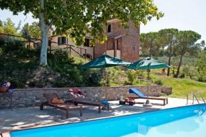Fietsvakantie Italie - Agriturismo met zwembad