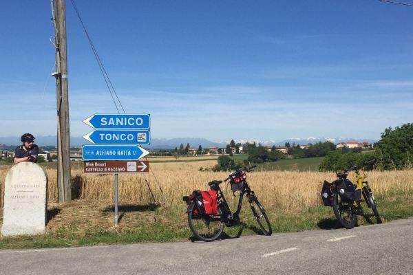 Fietsvakantie Piemonte - Italië (2)