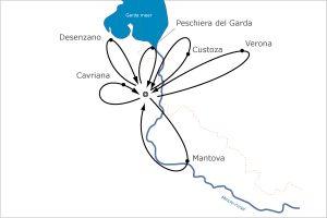 Fietsvakantie Standplaats Italie - Volta Mantovana
