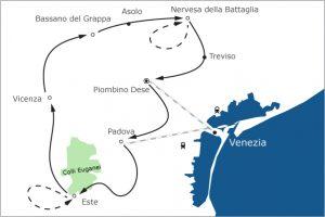 Fietsvakantie Venetie - Veneto op de fiets