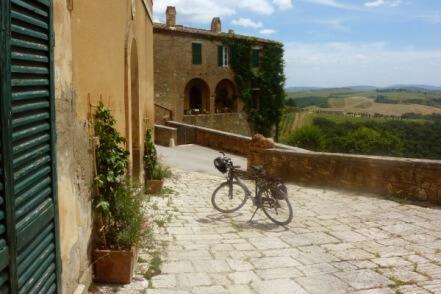 Uitgelichte foto fietsvakantie Toscane Siena