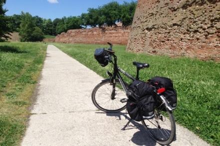 Uitgelichte foto fietsvakantie standplaats Ferrara