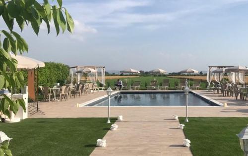 Fietsvakantie Romagna zwembad