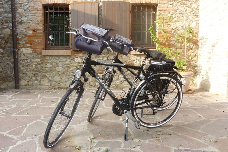 fietsvakantie Emilia - huurfiets Sensa trekking