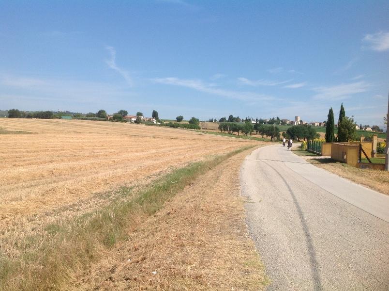 fietsvakantie Umbrië