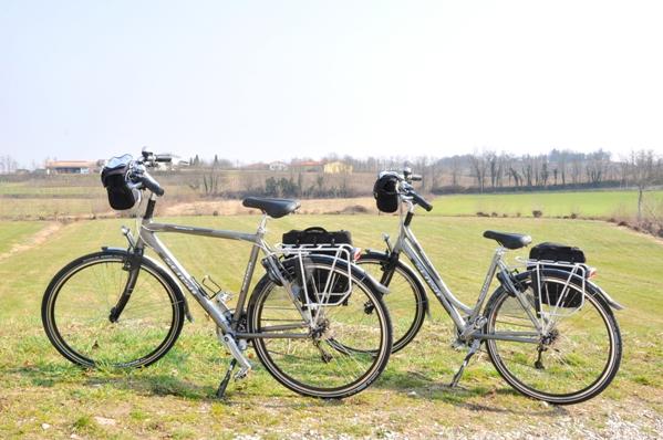 huurfiets standplaats fietsvakantie Volta Mantovana