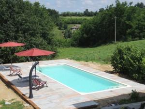 Fietsen in Piemonte - zwembad (1)