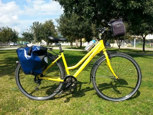 Trekking comfort bike