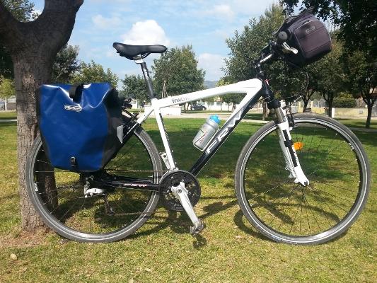 Trekking sport bike