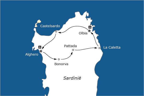 wielrentocht Sardinië fietsvakantie racefiets