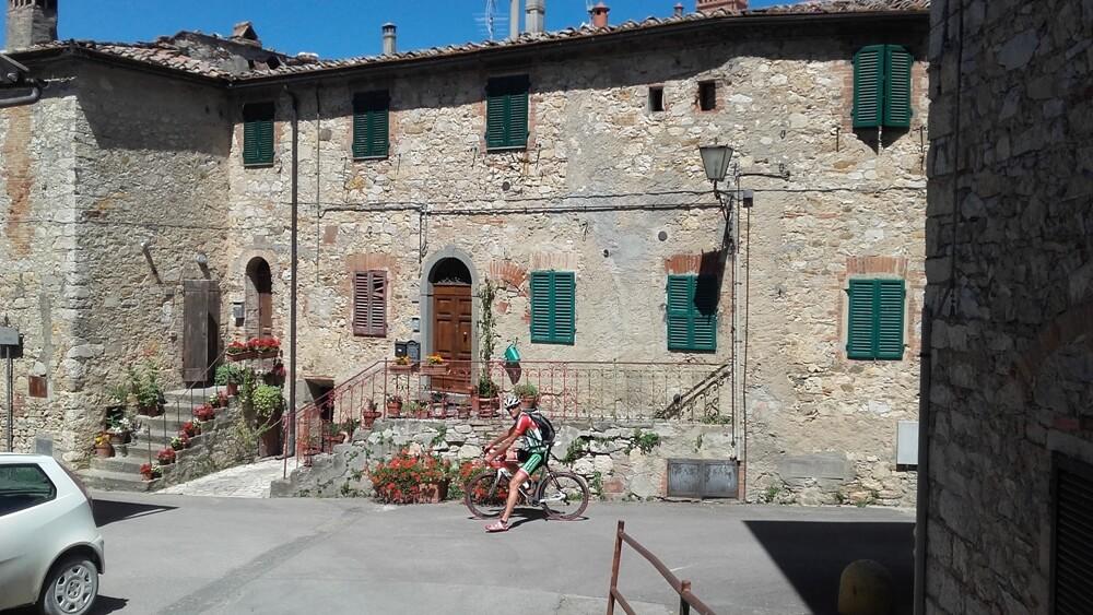 Fietsvakantie wielrenners Toscane