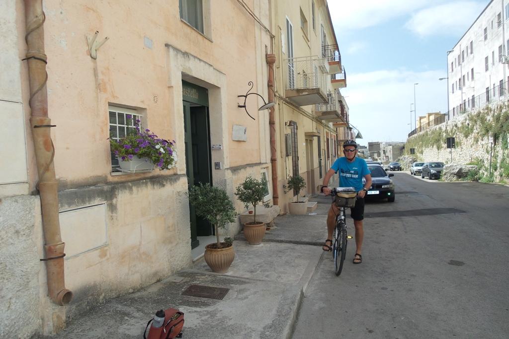 Fietsvakantie Puglia - in Matera