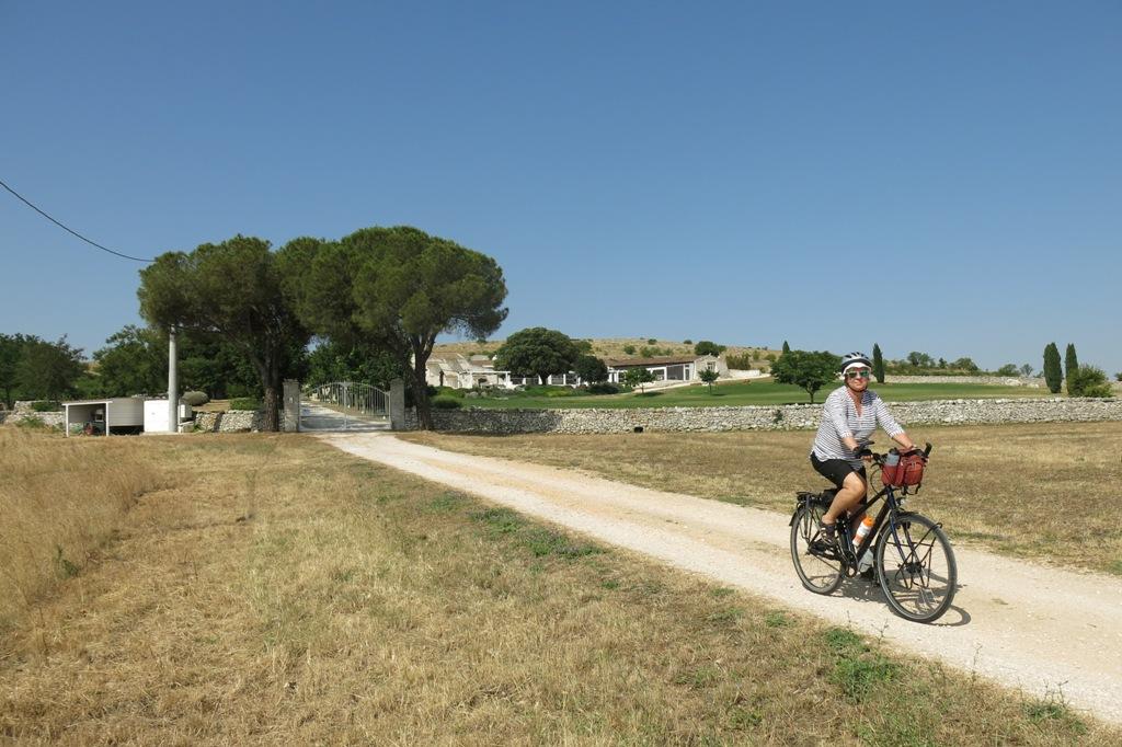 Fietsvakantie Puglia - Vertrek Masseria Torre di Nebbia
