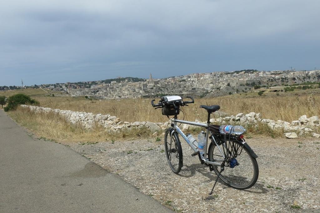 Fietsvakantie Puglia - rondrit Matera