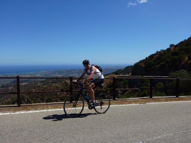 Fietsen in Sardinië wielrennen Zuid Italië (2)