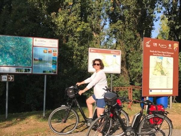 Standplaats Volta Mantovana fietsvakantie oktober noord italië (8)