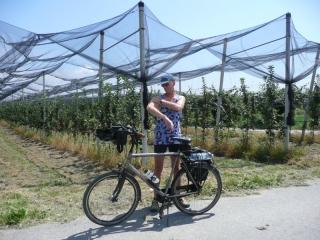 Fietsvakantie in Piemonte Cuneo - fietstocht Erik en Marchiena