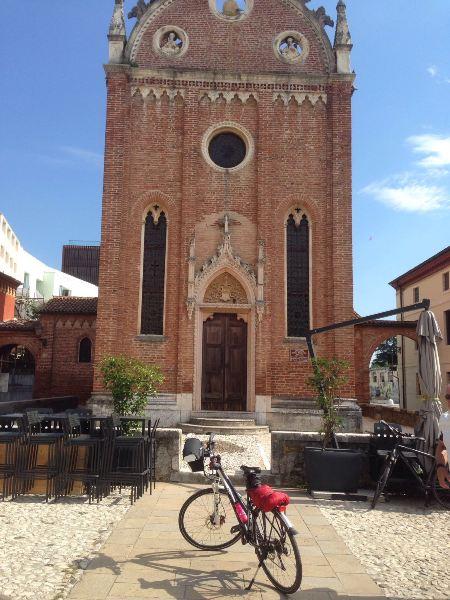 Fietsvakantie in Veneto trektocht in Italië
