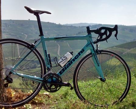 Fietsvakantie Piemonte voor wielrenners - huur wielrenfiets