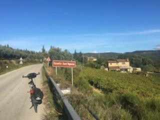 Fietsvakantie Toscane Chianti - fietstocht in Toscane