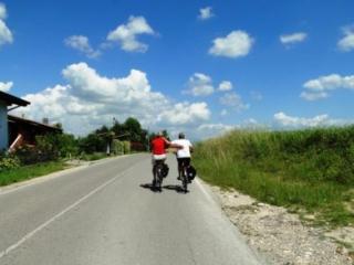 Standplaats fietsreis in Italië