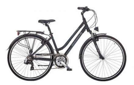 Hybride huurfiets dames Umbrië fietstocht