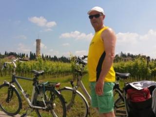 Standplaats fietsreis Italië
