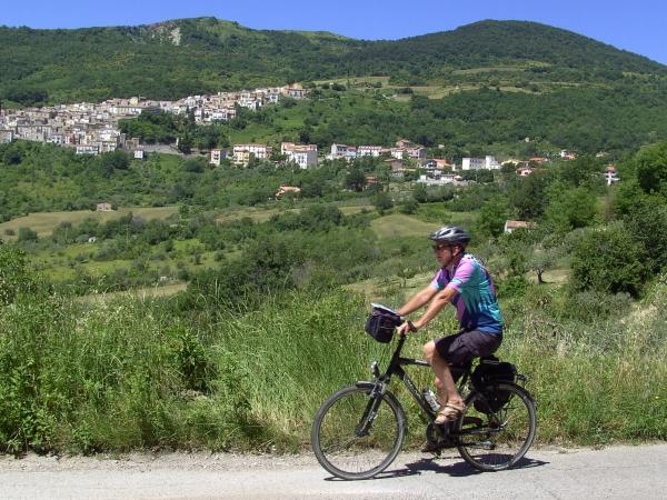 Fietstocht in Molise Zuid Italië
