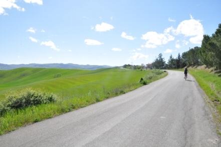 Fietsvakantie in Toscane - fietsreis foto