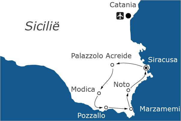 Fietsvakantie-op-Sicilie-Siracusa,-noto,-Modica