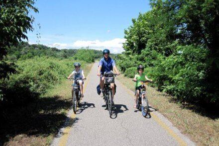 Uitgelichte foto fietsvakantie voor gezinnen Lombardije Emilia