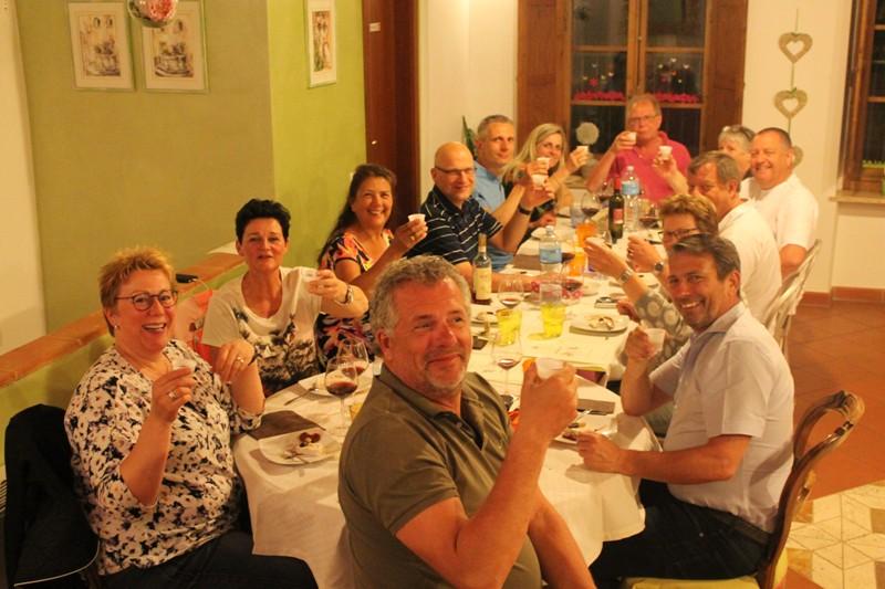 Fietsvakantie met groep van 14 in Toscane - groepsreis fietsvakantie