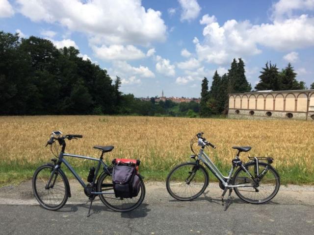 Fietsvakantie Piemonte Cuneo Noord Italië (2)