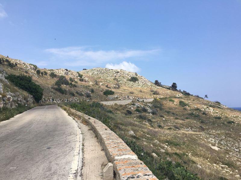Fietsen in Puglia - hiel van de laars