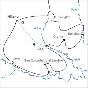 Fietsvakantie Milaan Italie