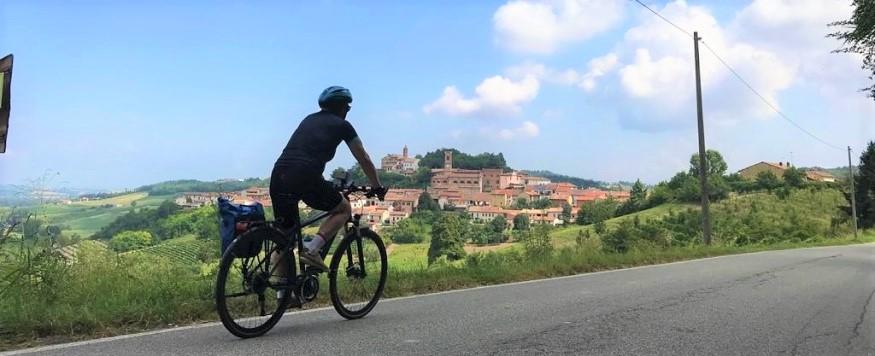 Fietsvakantie Piemonte - Onderweegs in Italie