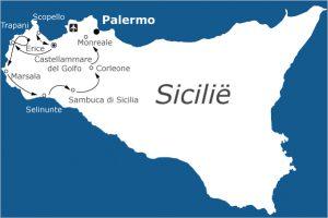 Fietsvakantie-Sicilië-west-Italië