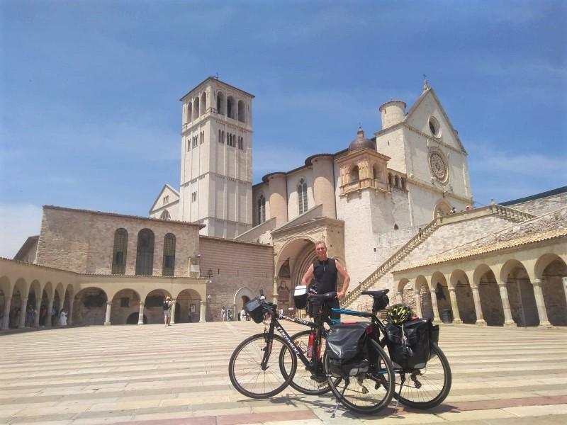 fietsvakantie in Italië - trektocht Umbrië