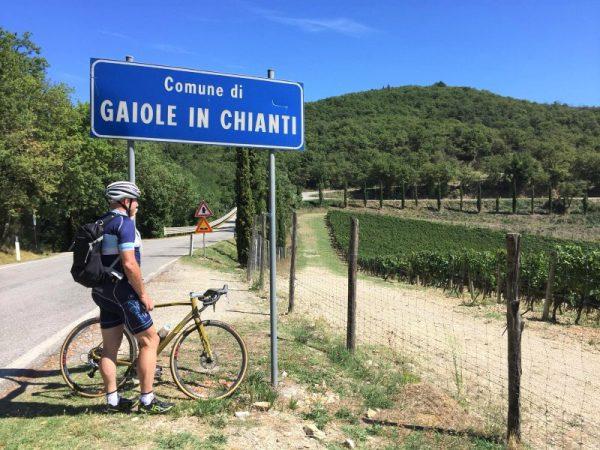 fietsvakantie in Italië - Toscane wielrenners