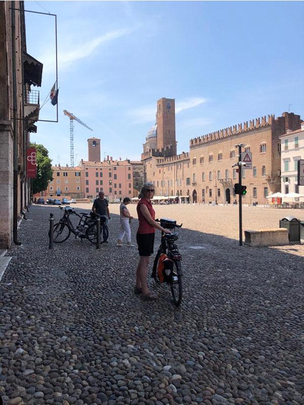 Fietsvakantie Italie - standplaats