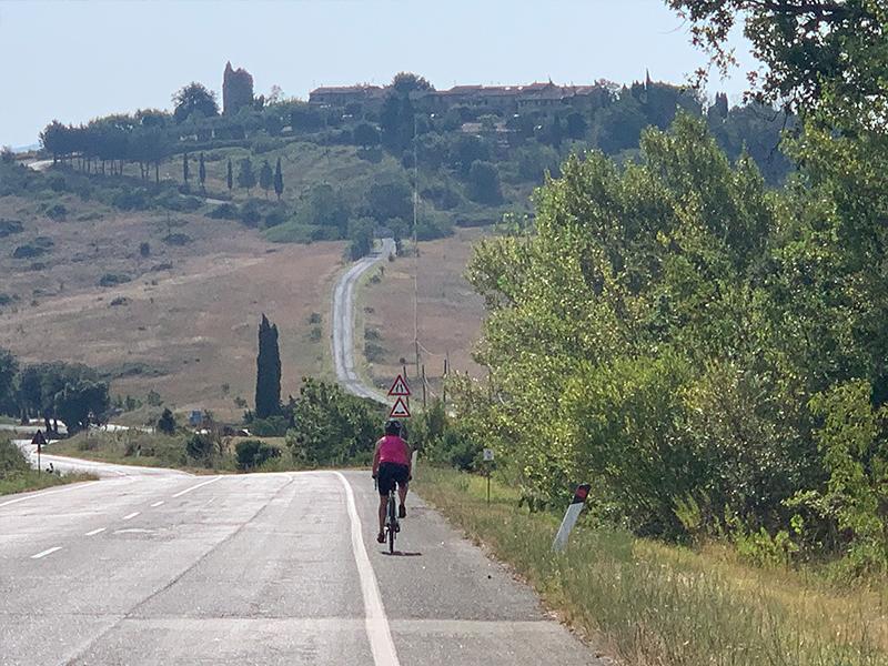 Fietsvakantie Toscane wielrentocht - Roel en Susanne