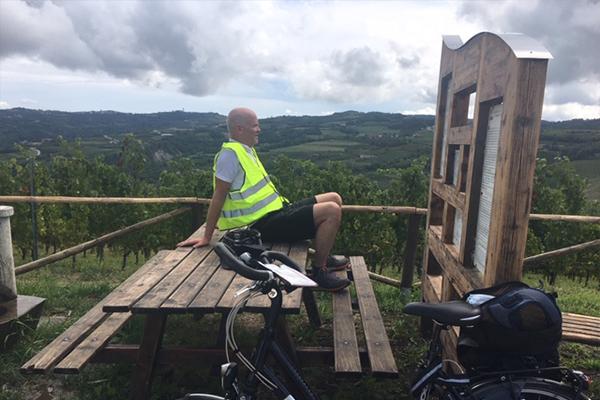 Fietsvakantie Piemonte Cuneo - fietsen in Noord Italië