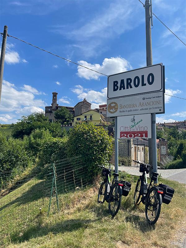 fietsvakantie piemonte cuneo - onderweegs in italië