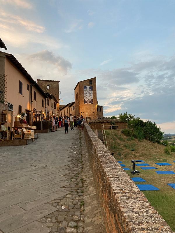 fietsvakantie toscane classico - onderweegs in italië