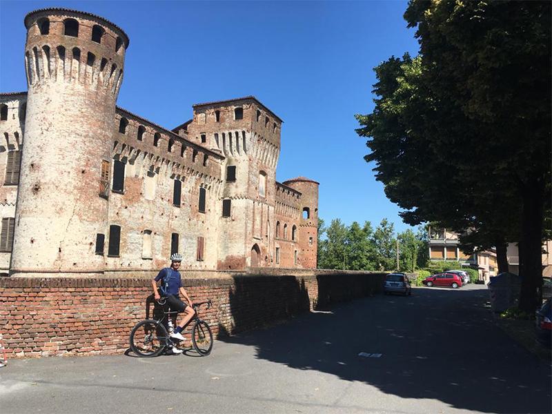 fietsvakantie emilia - onderweegs in italië