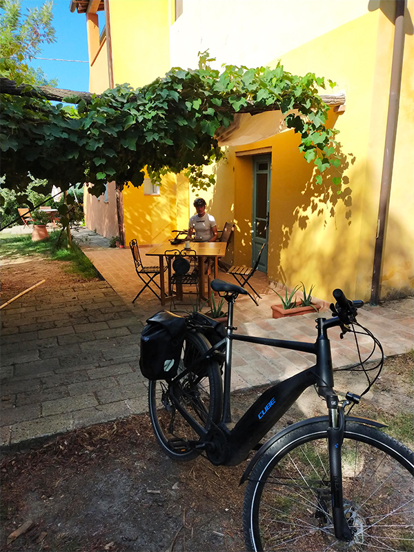 fietsvakantie toscane - onderweegs in italië